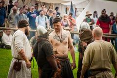 Festival di coltura medioevale Fotografia Stock Libera da Diritti