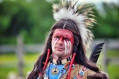 Festival di cultura indiana sulla collina di Kudykina fotografia stock