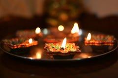 Festival di Diwali immagine stock