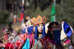 Festival 2014 di Dochula Druk Wangyel Fotografia Stock Libera da Diritti