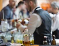Festival di Dram del whiskey a Kiev, Ucraina fotografia stock libera da diritti