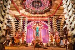 Festival di Durga Puja Fotografia Stock Libera da Diritti