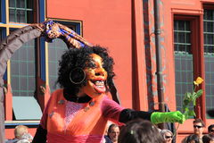 Festival di Fasnacht, Basilea Fotografie Stock Libere da Diritti