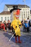 Festival di Fasnacht, Basilea Immagini Stock Libere da Diritti