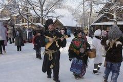Festival di folclore Immagini Stock
