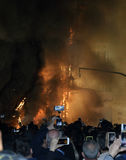 Festival di fuoco a Valencia Fotografia Stock Libera da Diritti