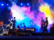 Festival 2015 di Gamelan alla fortezza di Vastenburg Fotografia Stock