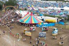 Festival di Glastonbury delle arti Fotografia Stock Libera da Diritti