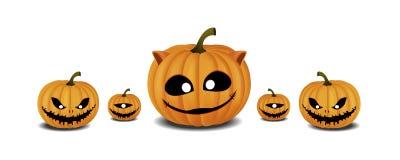 Festival di Halloween della zucca Immagini Stock