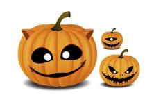 Festival di Halloween della zucca Fotografie Stock