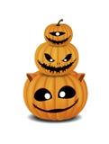 Festival di Halloween della zucca Fotografia Stock