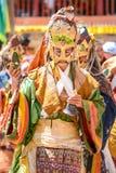 Festival di Hemis in Leh, Ladakh, India fotografie stock