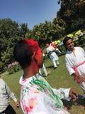 Festival di Holi Fotografie Stock