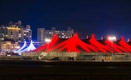 Festival di inverno di Tollwood a Monaco di Baviera Fotografie Stock
