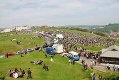 Festival di Jack In The Green, 2014 Fotografia Stock Libera da Diritti