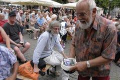 FESTIVAL DI JAZZ 2015 DI COPENHAGHEN fotografie stock