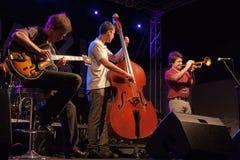 Festival di jazz di Kriol il 14 aprile 2011 Fotografia Stock