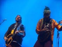 Festival di jazz di Montreal di zula del babza immagine stock