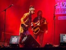 Festival di jazz 2016 di Montreal di zula del babza immagini stock libere da diritti