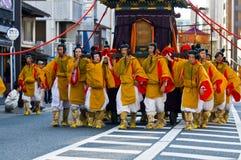 Festival di Jidai Matsuri fotografia stock libera da diritti
