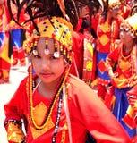 Festival di Kadayawan, città di Davao Fotografie Stock Libere da Diritti