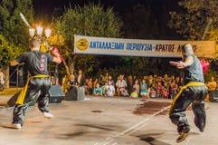 Festival di Kung Fu Fotografia Stock