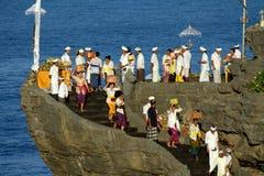 Festival di Kuningan, Bali Indonesia immagine stock libera da diritti
