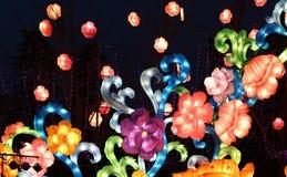 Festival di lanterna, Chengdu, Cina nel 2015 Fotografie Stock Libere da Diritti