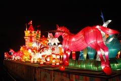 2014 festival di lanterna cinesi del nuovo anno Immagine Stock