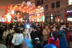 Festival di lanterna del 2011 cinese   Immagini Stock Libere da Diritti
