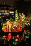 Festival di lanterna durante il nuovo anno cinese Fotografia Stock Libera da Diritti