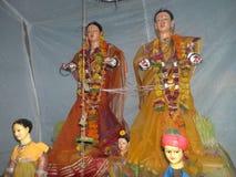 Festival di Maha Lakshmi in maharashtra, India fotografia stock libera da diritti