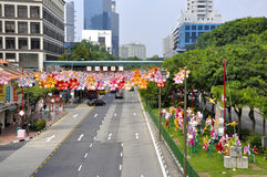 Festival di Mezzo autunno di Chinatown Fotografie Stock