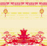 Festival di Mezzo autunno per il nuovo anno cinese Immagine Stock Libera da Diritti