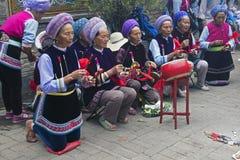 Festival di minoranze in Dali - il Yunnan, Cina immagine stock
