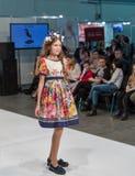 Festival 2016 di modo di Kyiv della moda a Kiev, Ucraina Immagine Stock Libera da Diritti