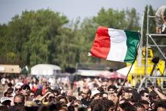 Festival di musica Budapest Ungheria di estate di Sziget Immagini Stock