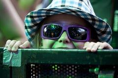 Festival di musica Budapest Ungheria di Sziget Fotografia Stock