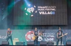 Festival di musica di IHeartRadio Immagine Stock Libera da Diritti