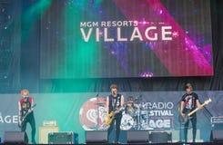 Festival di musica di IHeartRadio Fotografia Stock Libera da Diritti