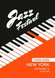 Festival di musica di jazz Fotografia Stock Libera da Diritti