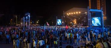 Festival di musica etnica Forey Fotografia Stock Libera da Diritti