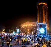 Festival di musica etnica Forey Fotografie Stock Libere da Diritti