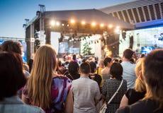 Festival di musica etnica Forey Fotografie Stock