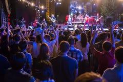 Festival di musica etnica Forey Immagine Stock Libera da Diritti