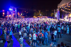 Festival di musica etnica Forey Fotografia Stock