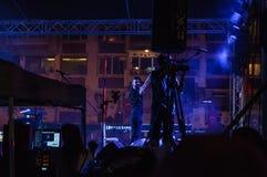 Festival di musica folk di estate Fotografie Stock