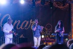 Festival di musica folk di estate Fotografia Stock