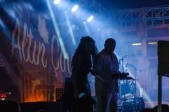 Festival di musica folk di estate Immagini Stock Libere da Diritti