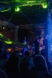 Festival di musica folk di estate Immagine Stock